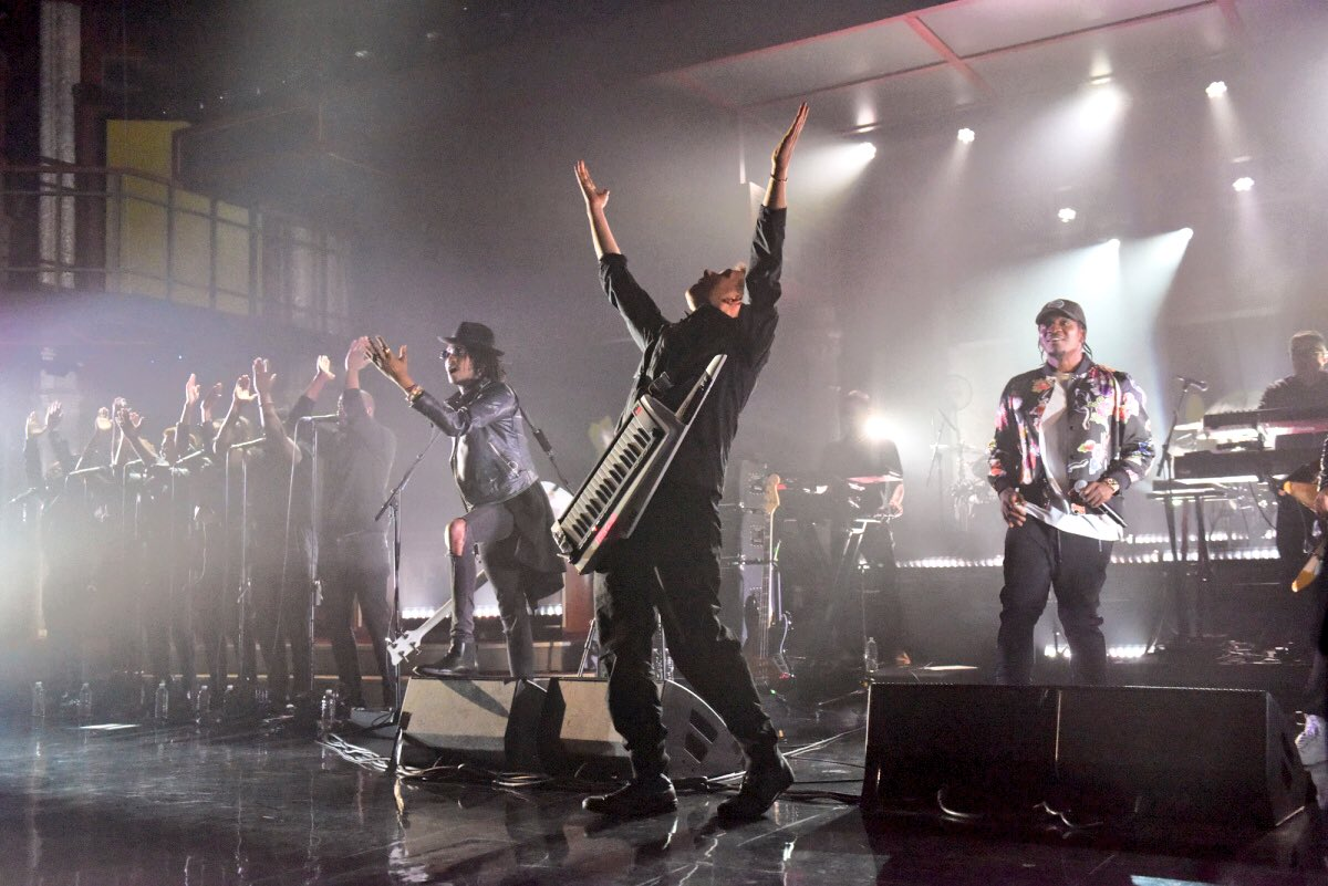 Gorillaz Star As Musical Guests On The Late Show