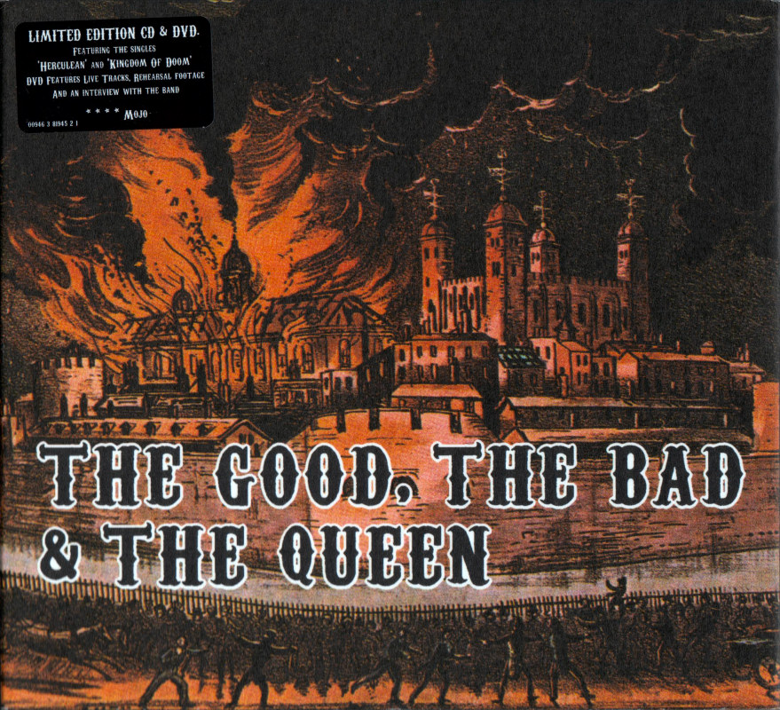 The Good, The Bad & The Queen - album covers