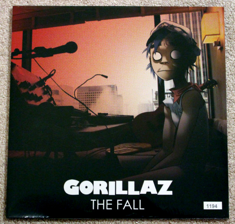 cd gorillaz the fall