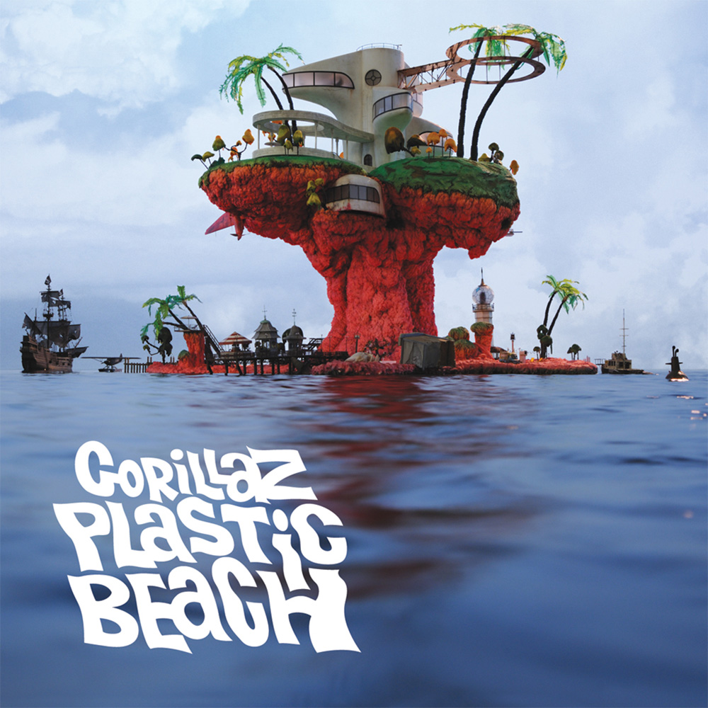 gorillaz wallpapers plastic beach - photo #36