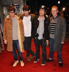 Blur at No Distance Left To Run premiere