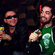 Damon Albarn and Danger Mouse